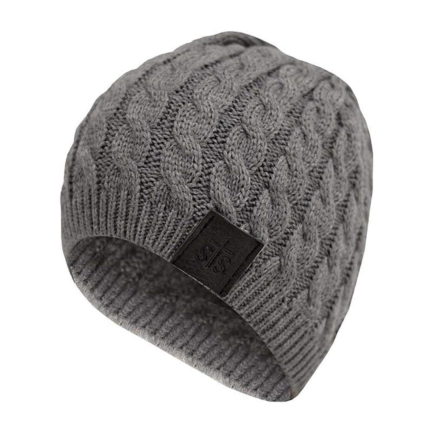 f33278efa8f4 Get Quotations · Private Label Women's Classic Winter Cable Knit Beanie Grey