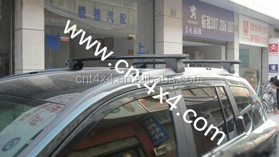 Horizontal roof rails for SUV car COMPASS 2010,2011,2012,2013