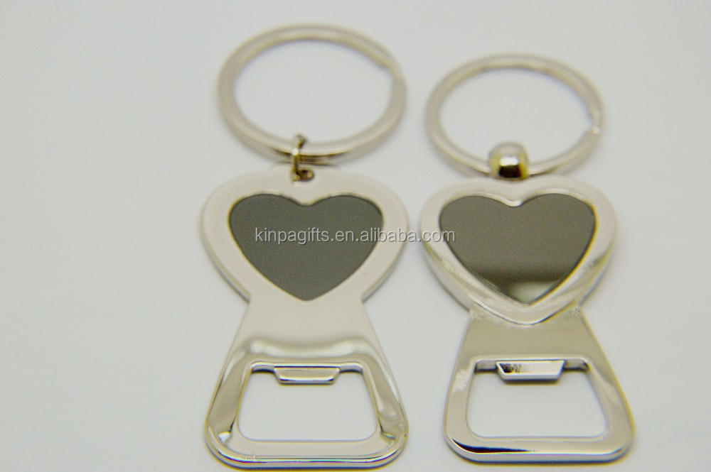 wedding gifts party wholesale heart shaped metal bottle opener keychain buy wedding gifts. Black Bedroom Furniture Sets. Home Design Ideas