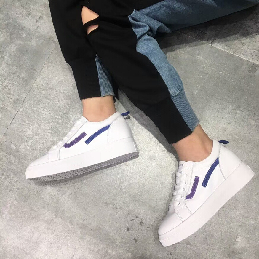 increased women's casual head lace round fashion shoes platform Simple xwCt0Sqw