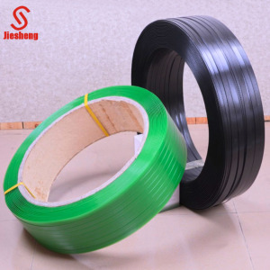 embossed green pet polyester packaging plastic strap bands