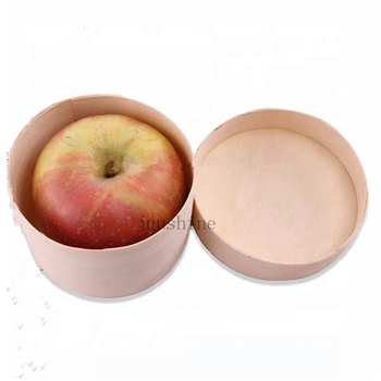 High Quality Bark Wooden Boxfor Packing Tea