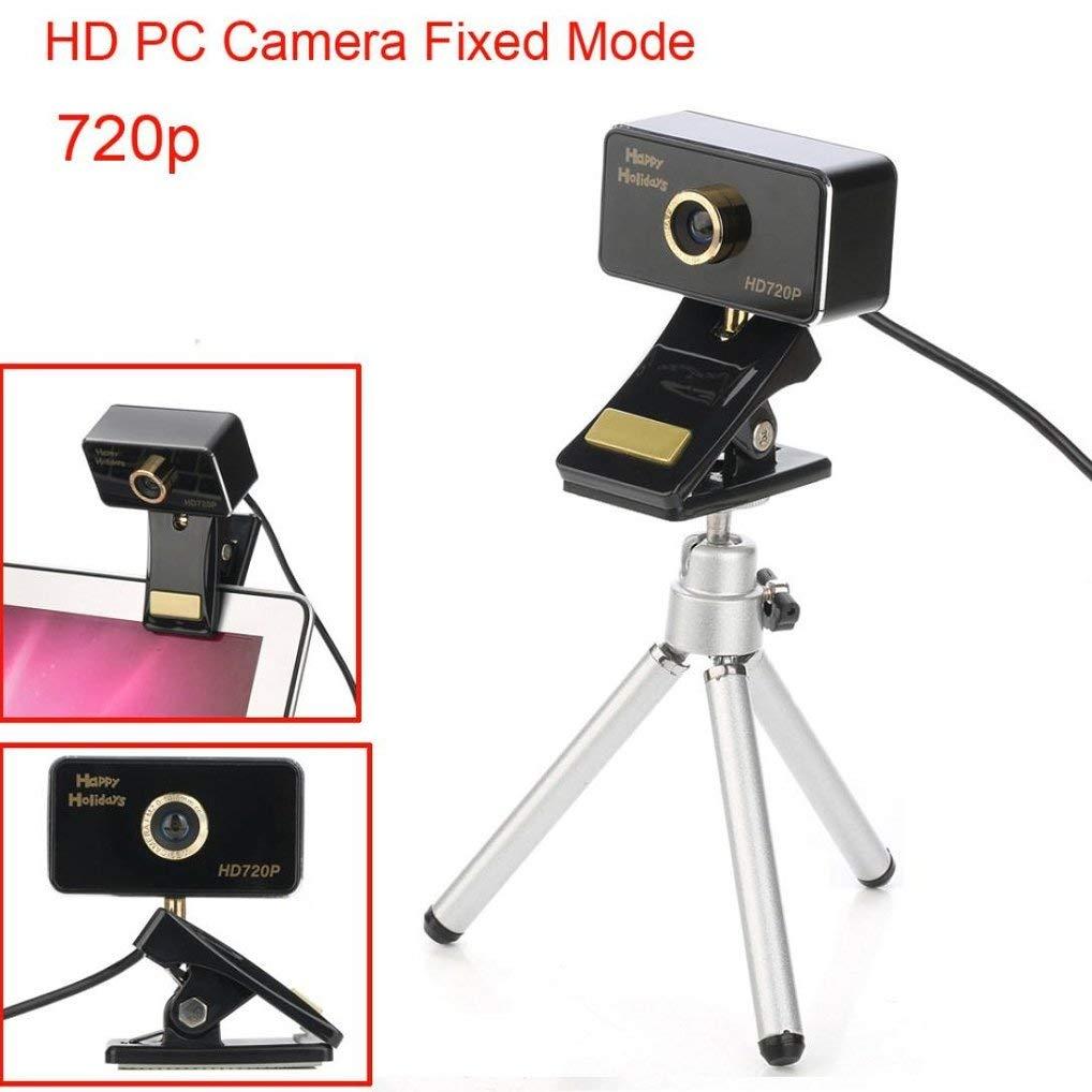 Appoi Web Camera USB HD Webcam 720P Digital Video Web Camera with Built-in Sound Digital LED HD 720 P PC CAMERA