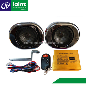 Hot Selling Motorcycle MP3 FM Radio SD Audio Anti-theft Mp3 Alarm System