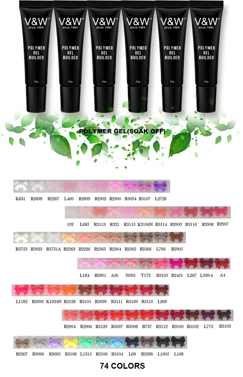 OEM Cosmetics  Factory  Free Samples Gel Polish  POLYMER GEL