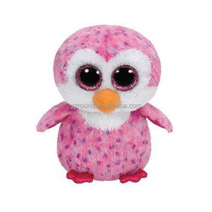 716ff30fce20 Ty Beanie Boos pink cheap promotion plush big eyes penguin toy soft plush
