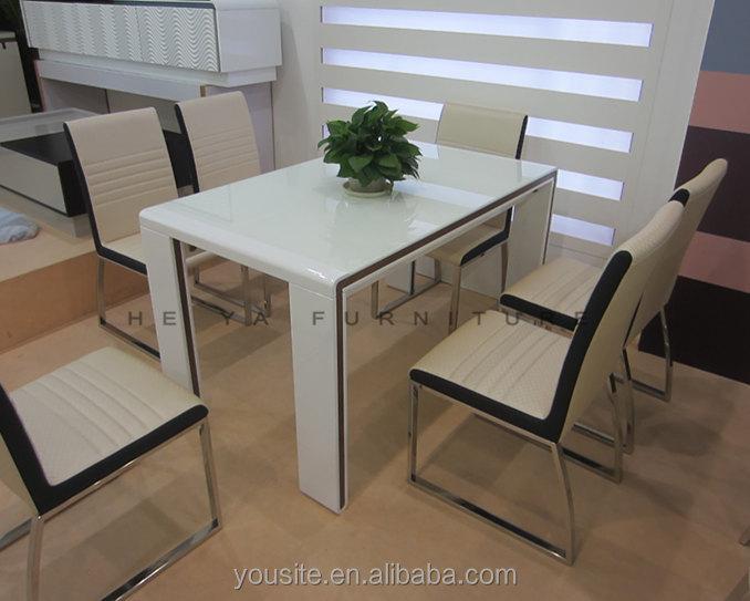 base de madera para mesa comedor mesa comedor de laca blanca