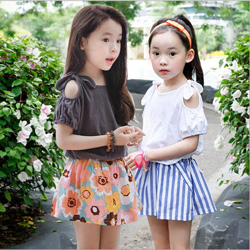 Summer Style Kids Clothes Girls Fashion Korean Children ... Korean Toddler Clothes