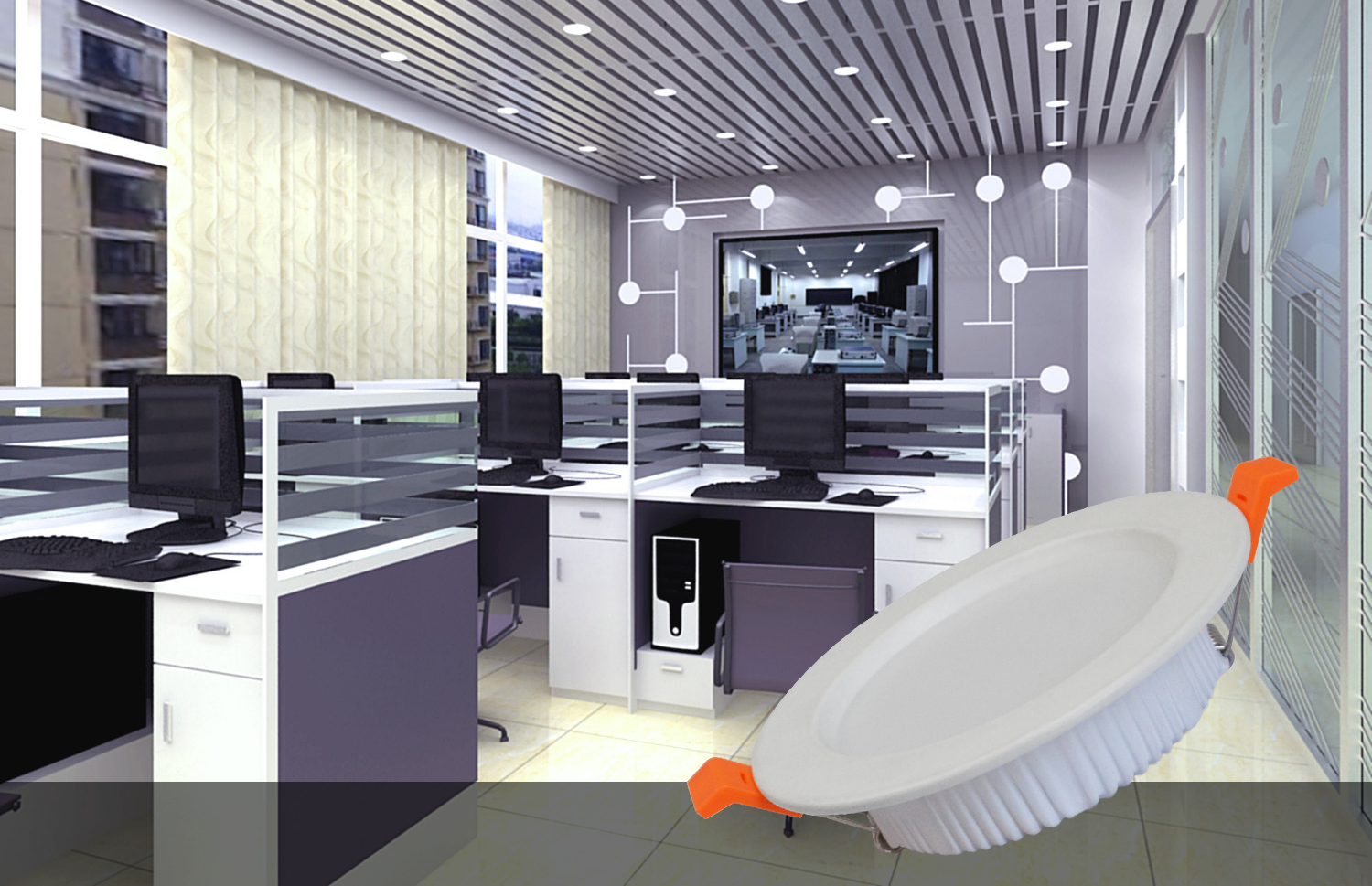 China Wholesale IP44 5 inch Small Order Accepted Round  Dimmable 9W  SMD Anti-glare  Ceiling Lamp Led Down Light