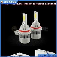 Newest auto parts factory price 3800lm 36W H8 H9 H11 C6 LED Headlight H11