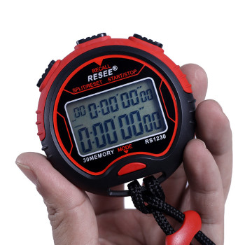 Electronic Timer Sport Stop Watch Stopwatch Sports Timer With Lcd Display Stopwatch Handheld With Waterproof