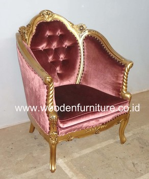 French Style Sofa Antique Chair Vintage