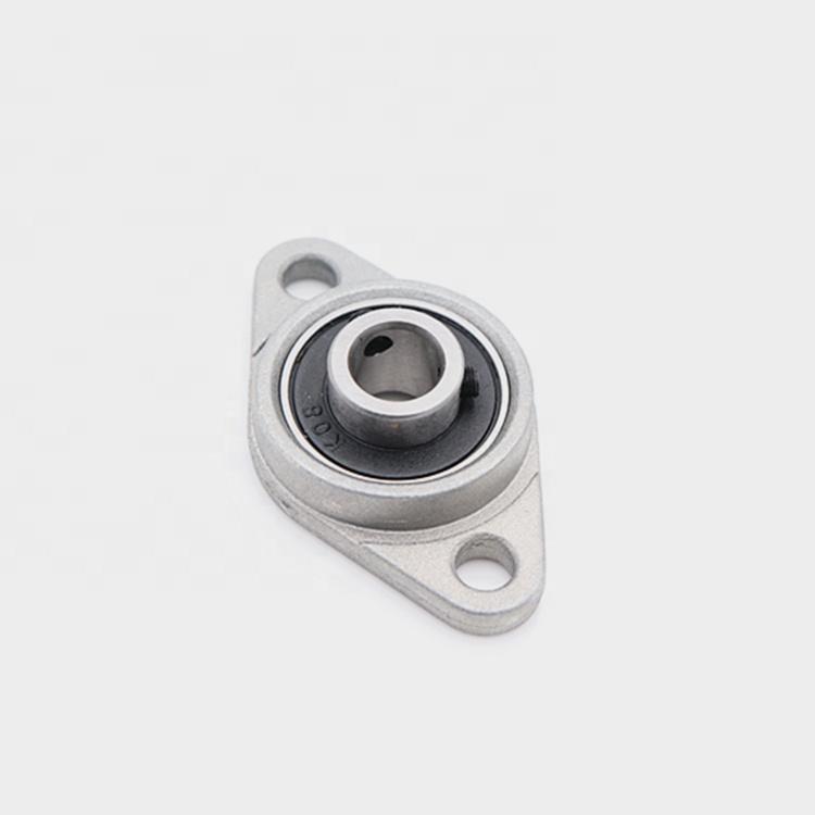 CUHAWUDBA KFL001 Rodamientos de bolas de aleaci/ón de zinc con soporte de 12 mm