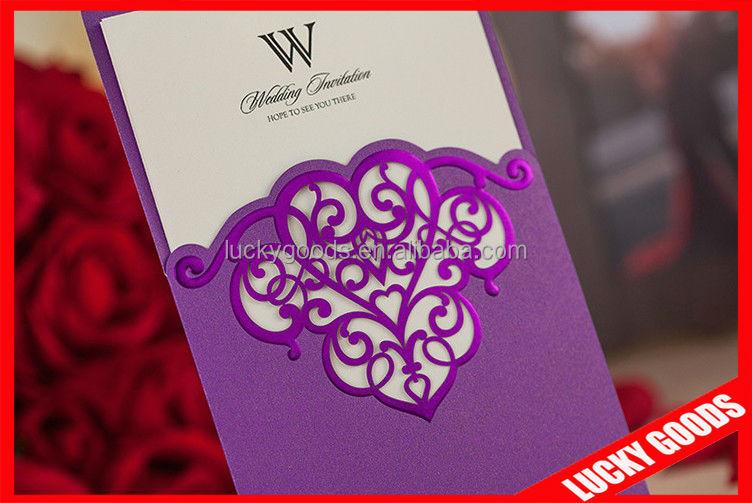 Cheap Good Looking Wedding Invitation Card Plastic Birthday