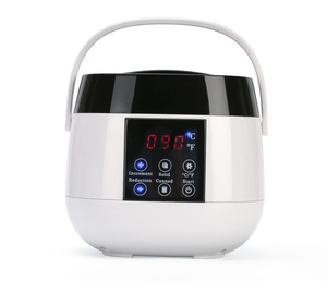 2018 new style touch panel pot parrffin body hair removal wax warmer digital wax heater