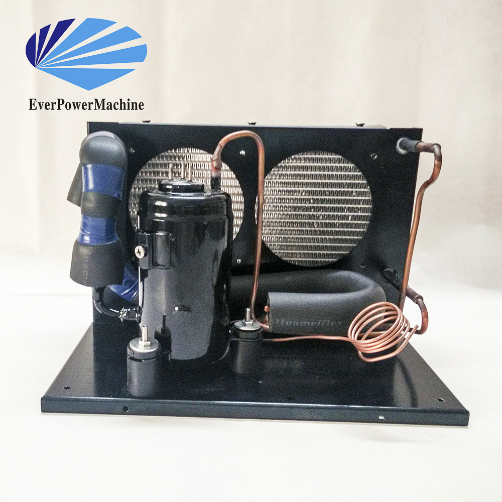 Small Cooling Unit : Hac dc walk in cooler refrigeration small condesing
