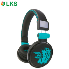 Shenzhen wholesale high quality leather wired stereo mobile headphone headset