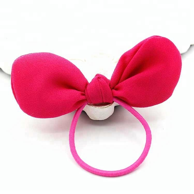 Bunny Rabbit Ears Girls Thin Elastic Hair Ties - Buy Hair Tie For ... 02d8668f13b