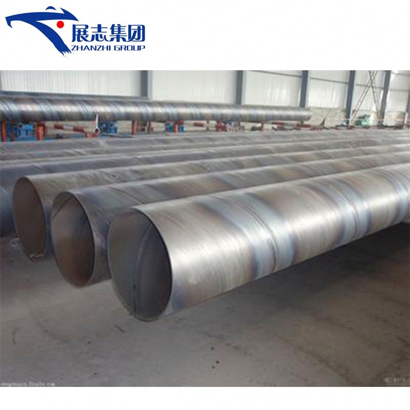API-5L 24 inch drain pipe, large diameter welded spiral steel pipe