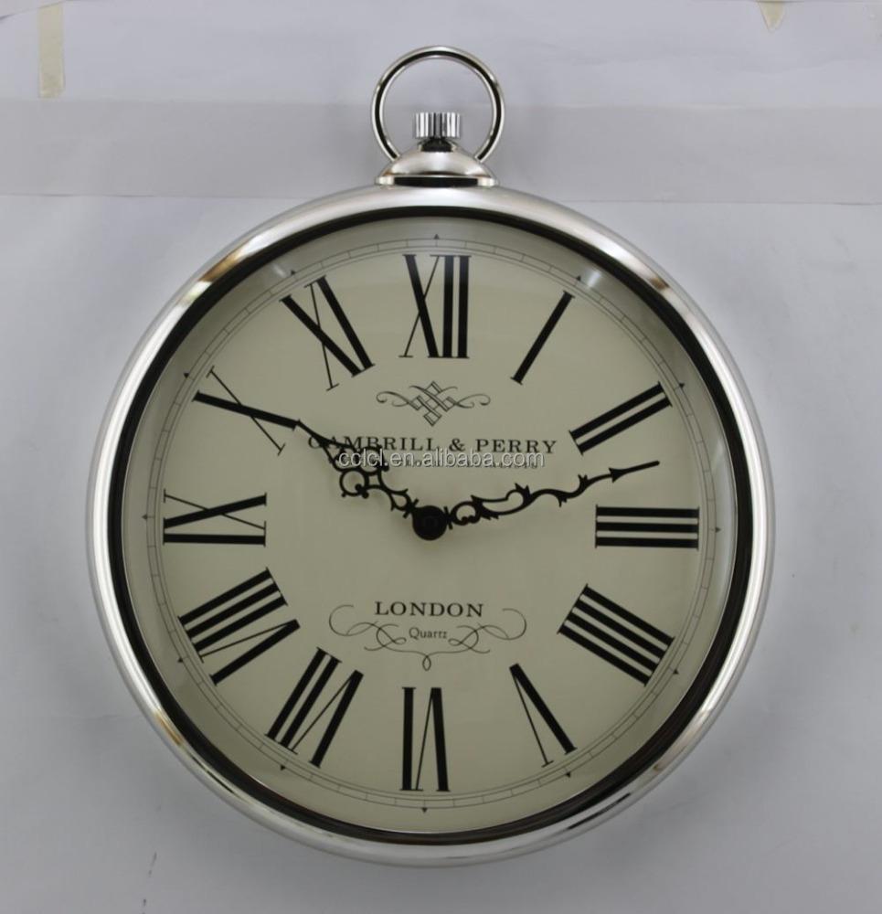 Pocket watch wall clock buy wall clock product on alibaba amipublicfo Choice Image