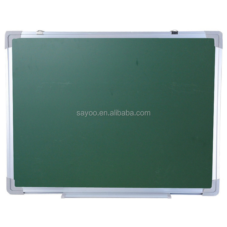 Double side aluminium frame dry erase magnetic whiteboard writing green board