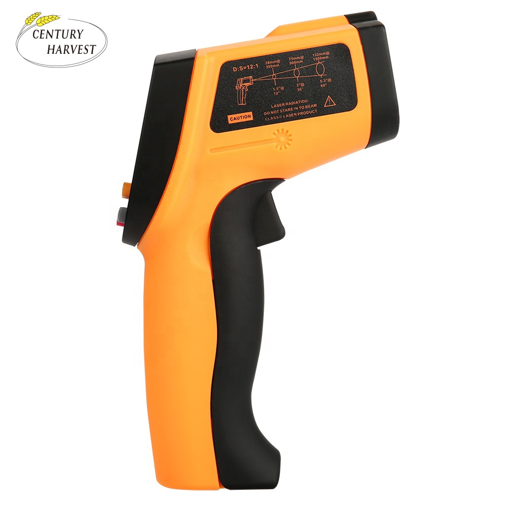 S-HW900 Best Price Infrared Thermometer Industrial Digital Thermometer S-HW900 Temperature Sensor Theory Test High Temperature - KingCare   KingCare.net