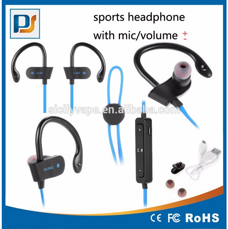 Bluetooth Headphones Wireless In Ear Earbuds V4.1 Stereo Noise Isolating Sports Sweatproof Headset With Mic,Premium Bass Sound