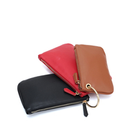Factory direct women genuine leather wallet set