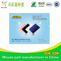 Waterproof Mouse Pad Computer Mousepad Leather Manufacturers