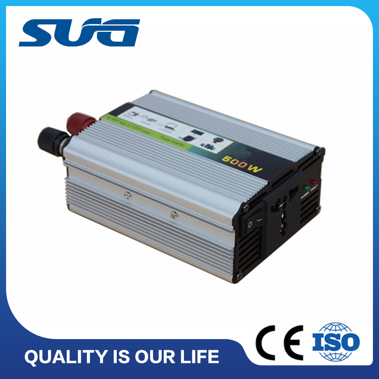 SUG hot selling 500w pure sine wave car inverter