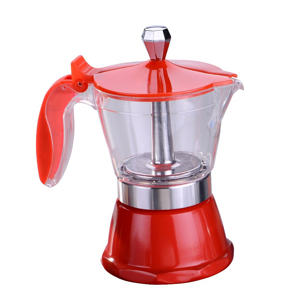 Travel espresso coffee maker single cup coffee maker with more colors