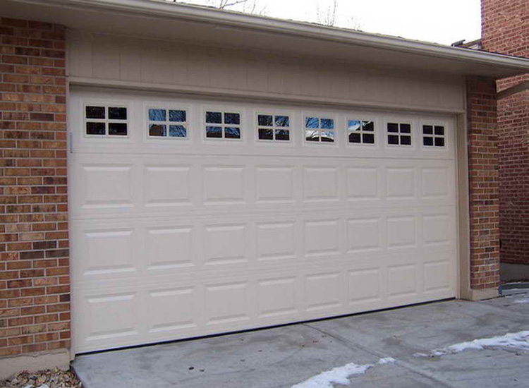 Automatic overhead sectional sliding garage door buy for 16x7 garage door with windows