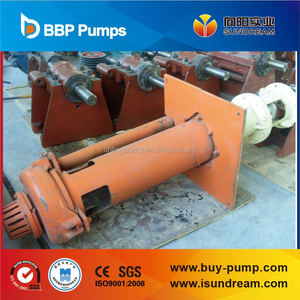 submersible pump SP and SPR vertical centrifugal slurry sump pump