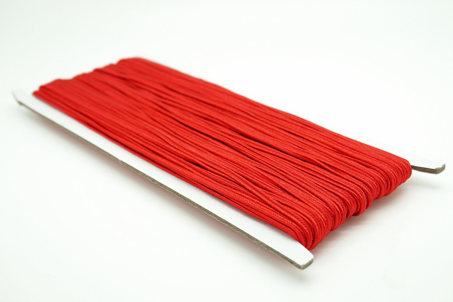 RED 3mm Polyester Soutache Braid Cord String Beading Sewing Quilting Trimming - 30 Yards