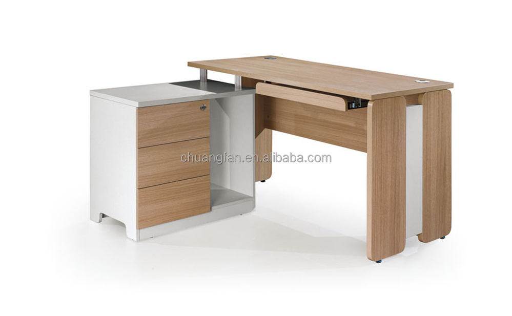 Mesa escritorio moderna envo gratis madera maciza mesa de for Mesa escritorio esquina