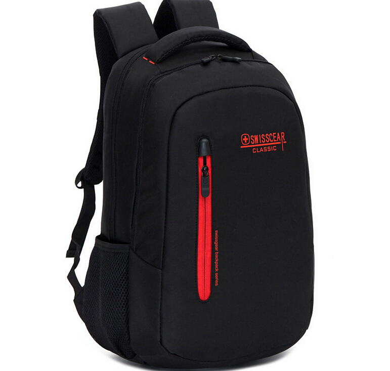 Get Quotations · Men Laptop Backpack Swiss Gear Women Traveling Daily  Backpack Unisex Hiking Bag 15  notebook School 650a08f1ef76d