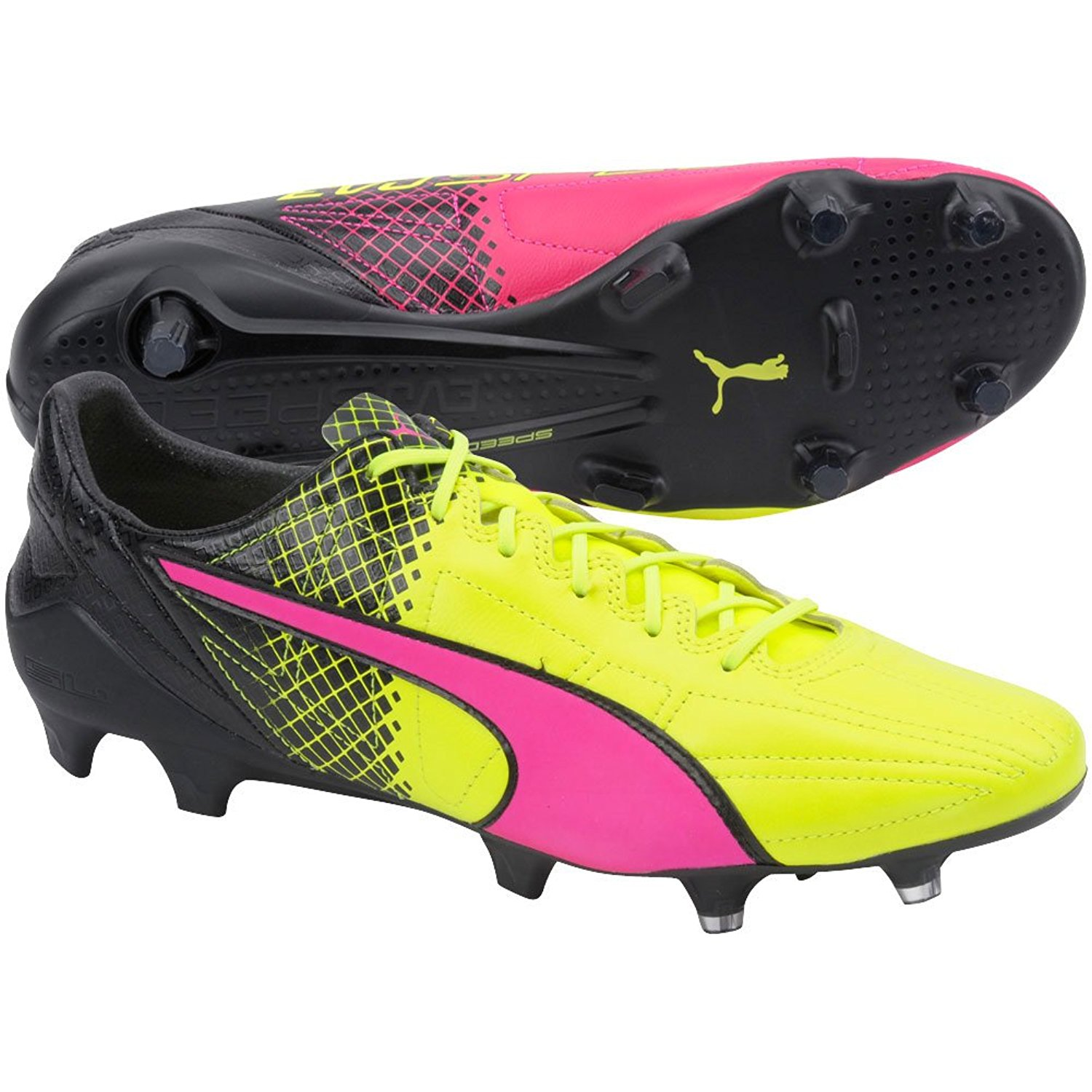 c6b817d8494 Buy PUMA evoSPEED 5.2 Tricks Firm Ground JR Soccer Cleat (Little Kid ...