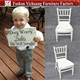 YC-A393 Metal children party event kids chiavari chair with cushion