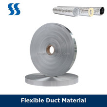 30 Micro Aluminium Foil Polyester Tape Al+PET+Al for Flexible Duct in Kitchen Hood
