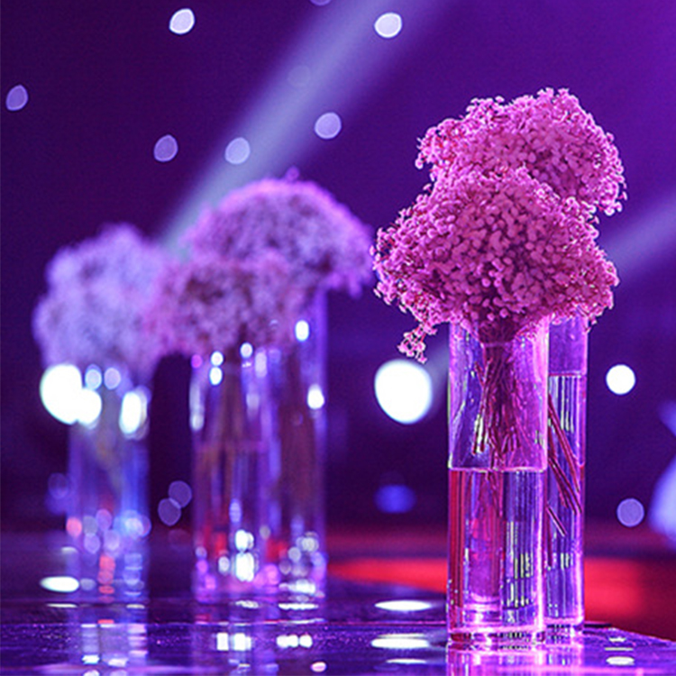Ready To Ship luxury crystal wedding flower stand vase walkway wedding road lead table centerpieces event party T- stand