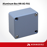 Top Quality Hennepps 64*58*35MM HN-AG-FA1 China Factory Manufacture IP66 Waterproof Electronic Die Cast Project Aluminum Box