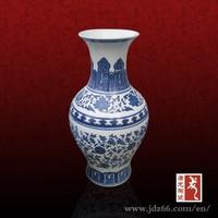 Chinese blue and white vase jingdezhen reproduction vase
