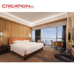 Hotel guest room bed headboard, headboards, nighstand, desk, armchair, side table, TV Cabinet furniture suite