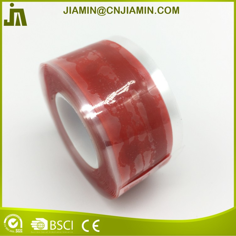 Waterproof silicone repair self fusing tape