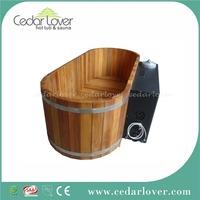 Portable balboa spa canada cedar wooden two person spa