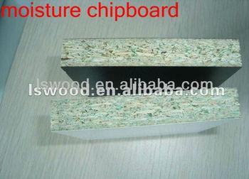 Melamine Waterproof Chipboard For Cabinet Green Core Particle Board