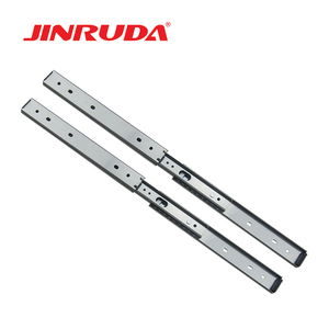 27mm Double layer us general tool box parts drawer slides , 2/3 Extension Slide Rail