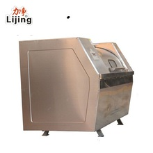 textile industrial hand operated horizontal shape 50kg washing machine