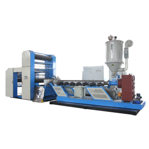 High Speed PP HDPE flat yarn extruder machine