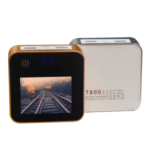 M-P100 7800mah Cuboid Electronic Album Holding 100 Photos Power Bank